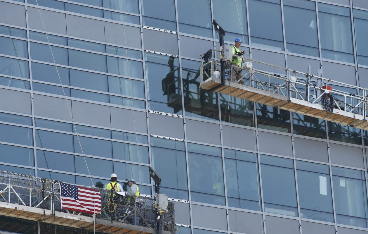 The state's 'scaffold law' remains a point of contention between business groups and unions. (Buffalo News file photo)