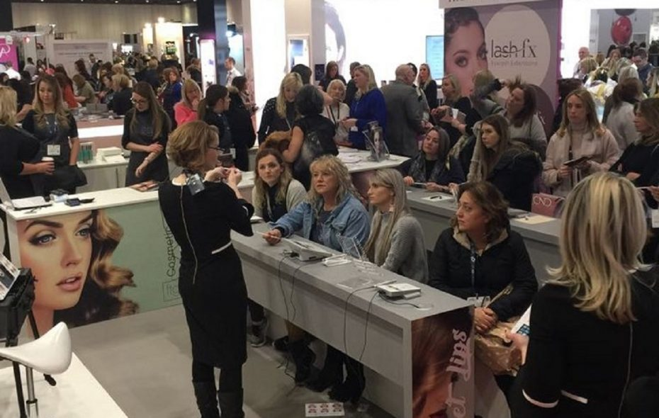 Master artist Sherry Hale, a state-certified and licensed dermal pigmentation and medical laser specialist, has has launched an international enterprise called the SHALE Group. She is pictured giving a presentation at a conference in London.
