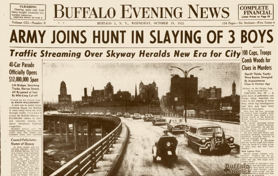 Buffalo in the '50s: Skyway was city's 'brightest jewel'