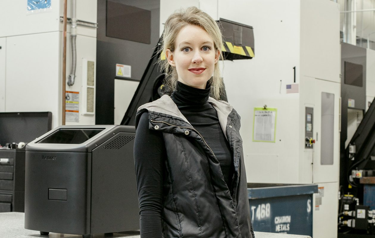 Elizabeth Holmes misled some of the most wealthy and powerful people in America to invest in a biomedical startup company, Theranos, that went from being worth $9 billion to going bankrupt overnight after her con was uncovered. (Carlos Chavarria/The New York Times)