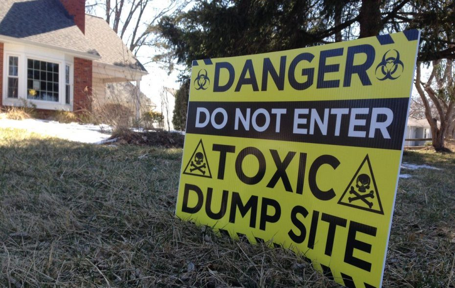 Residents of the area near the former Niagara Sanitation landfill have conducted their own tests and say the results are different from those done by the DEC. (T.J. Pignataro/Buffalo News)