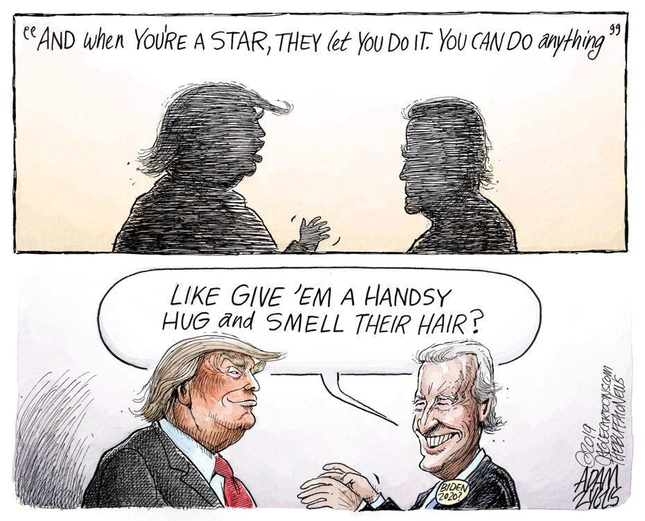 Biden behavior: April 4, 2019
