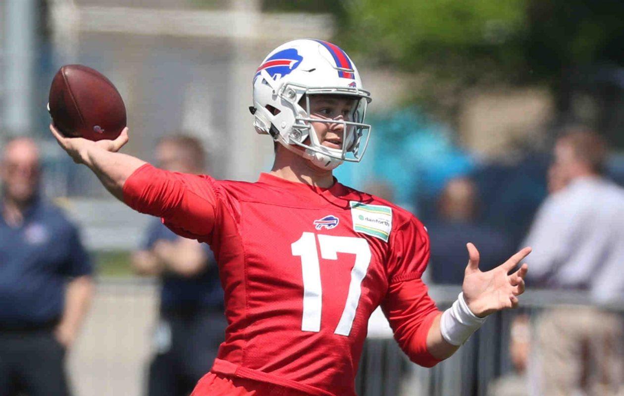 Josh Allen will lead the Bills in his second season. (James P. McCoy/News file photo)
