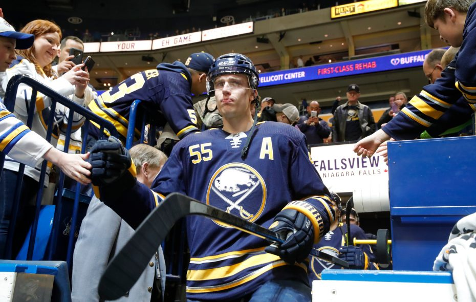 Sabres defenseman Rasmus Ristolainen implies he's asked to be traded
