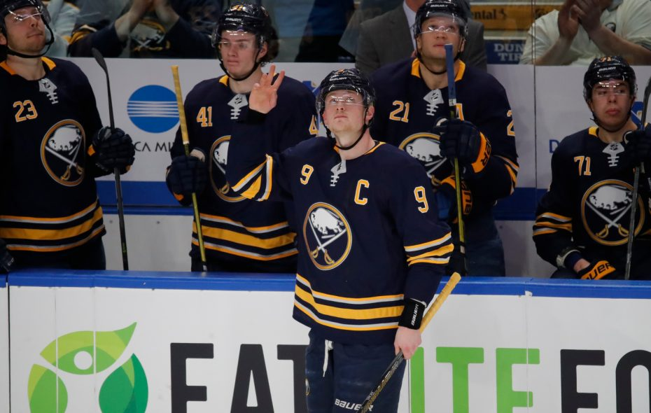 Outside of captain Jack Eichel, Buffalo just hasn't had much talent to offer.  (Harry Scull Jr./Buffalo News)