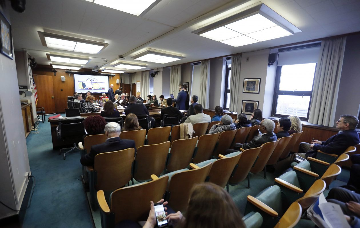 All nine seats on the Buffalo School Board are up for re-election in May.       (Mark Mulville/Buffalo News)