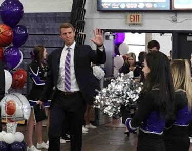 Patrick Beilein introduced as NU Purple Eagles' coach