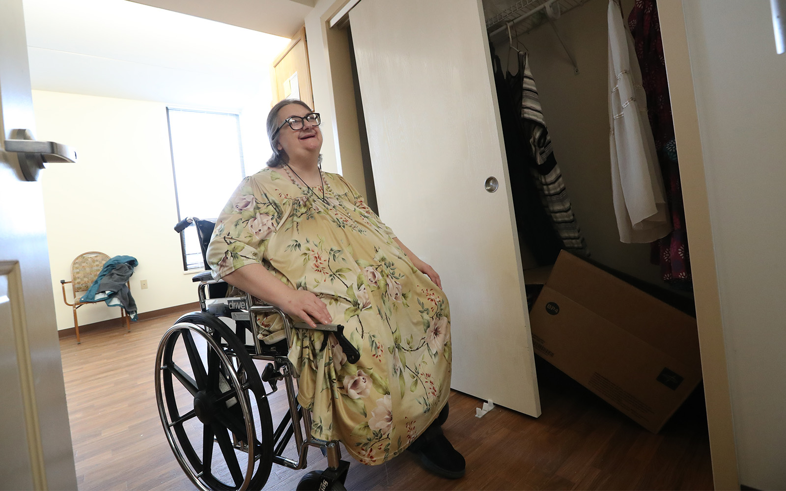 After 5 years in a nursing home, a Buffalo woman moves out
