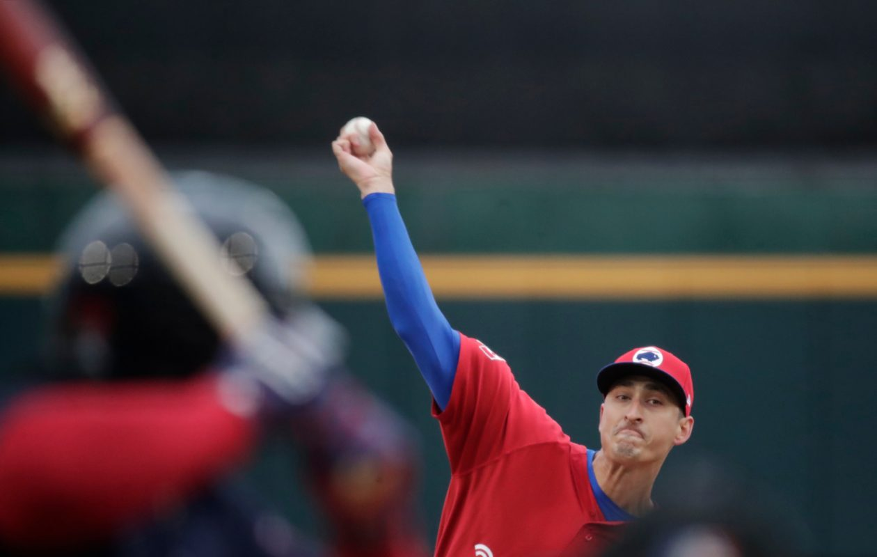 Jacob Waguespack starts Monday night for the Bisons in Syracuse (Harry Scull Jr./Buffalo News).