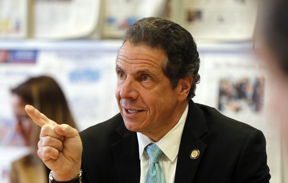 Gov. Andrew M. Cuomo had harsh words for State Senate and Assembly Democrats Tuesday. (Mark Mulville/Buffalo News)