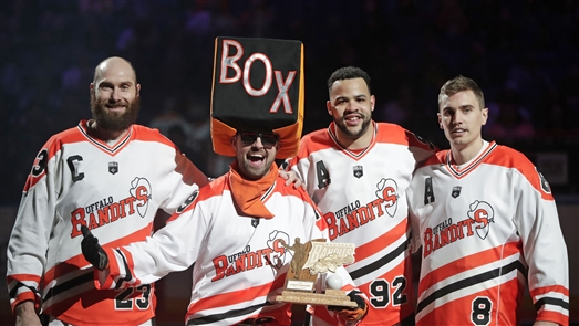 The Buffalo Bandits beat the New England Black Wolves 12-6 in keyBank Center on Saturday, April 20, 2019.