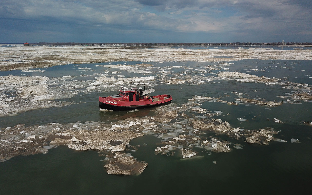 Respect the ice boom process: Ice will gradually head down Niagara River