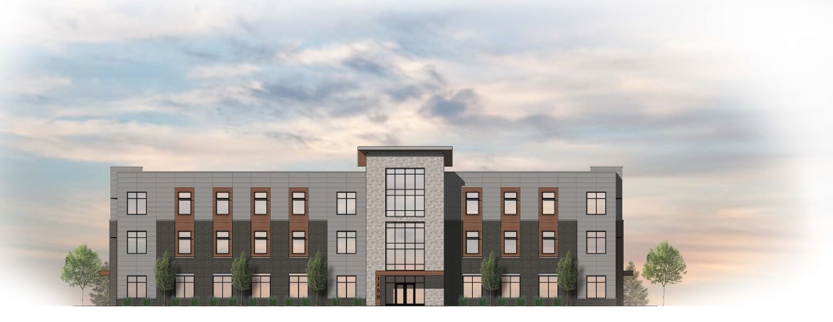 A rendering of the proposed nonprofit office building at 1200 Jefferson Ave. (Image courtesy of the Buffalo Planning Board)