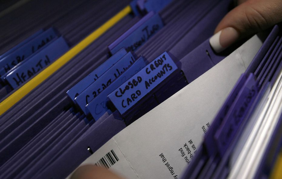 Keep your credit cards statements for six years. (Derek Gee/News file photo)