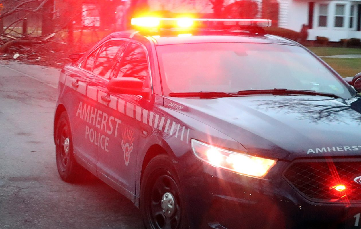 A 52-year-old retired state corrections officer says he was roughed up and tackled without warning or good reason by Amherst police as he waited at a medical office back in January. (John Hickey/News file photo)