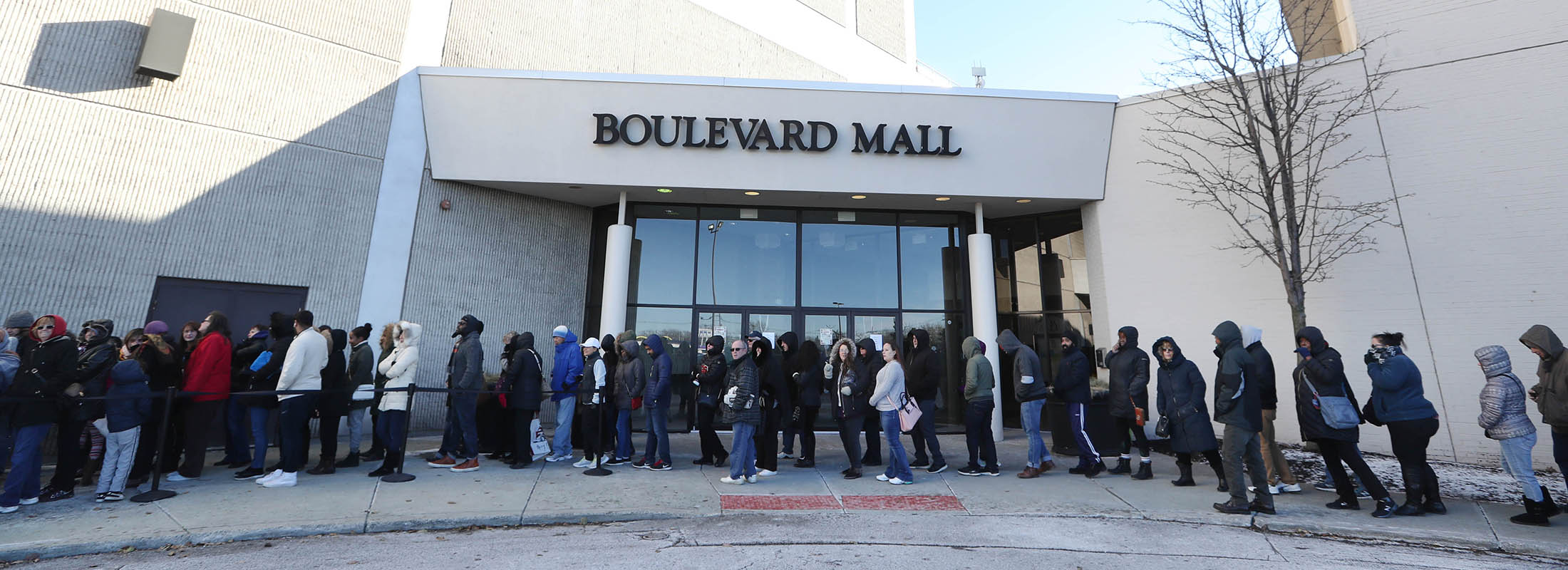 ba11eda4a89 Black Friday shopping started early at JC Penney at the Boulevard Mall on  Nov. 22