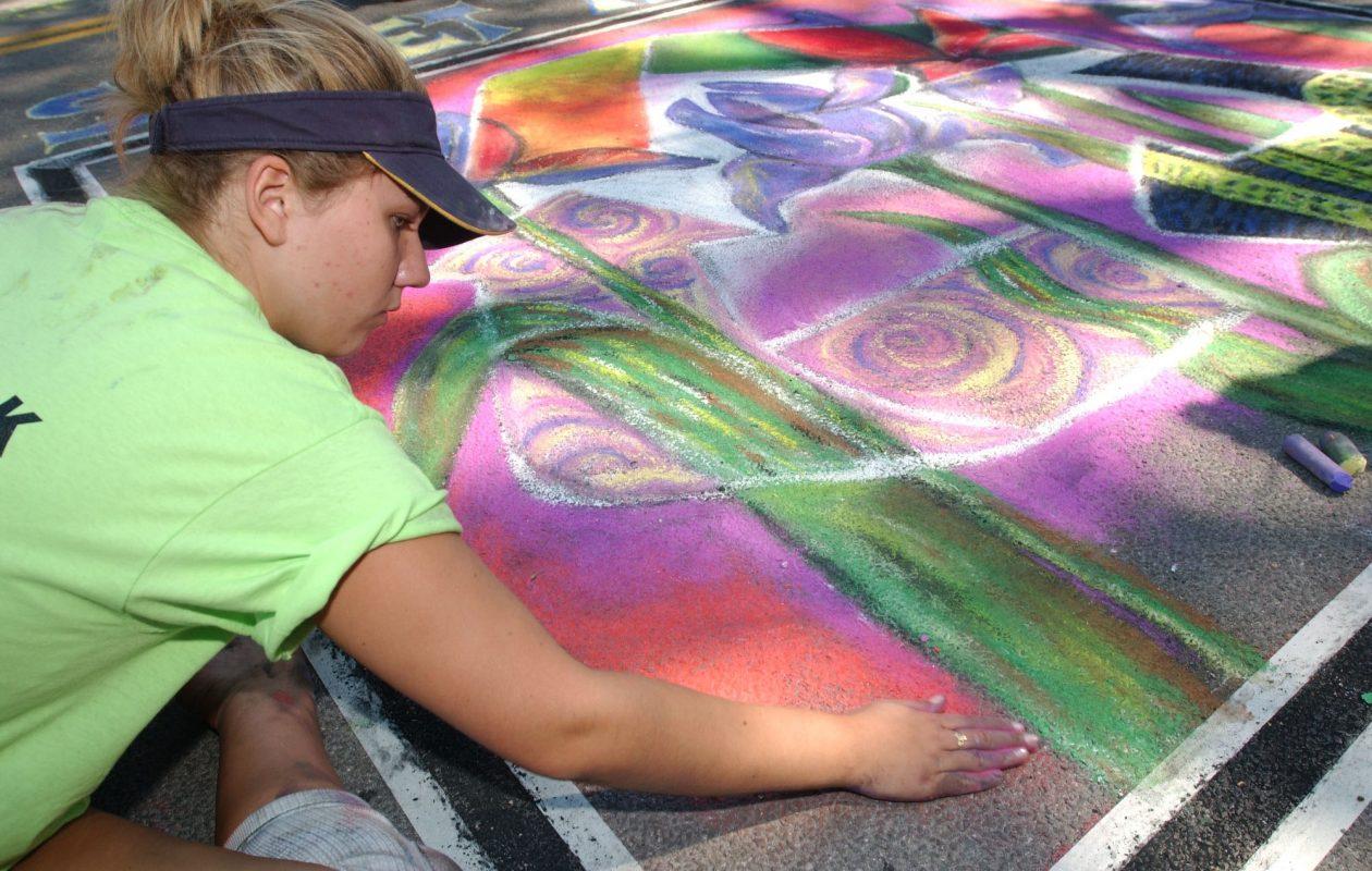 Artists sought for Lewiston Art Festival Chalk Walk