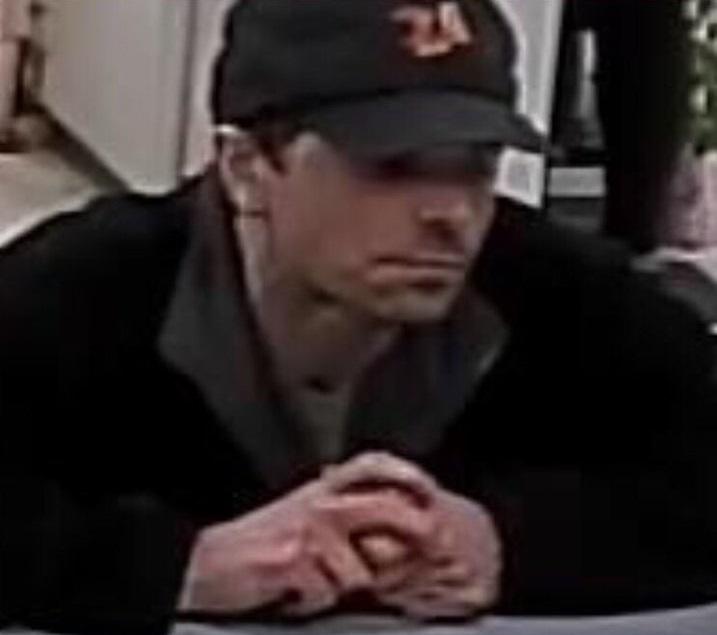 Cheektowaga Police suspect this man of robbing the Citizens Bank inside the Tops Friendly Market at Thruway Plaza on April 18, 2019. (Cheektowaga Police)
