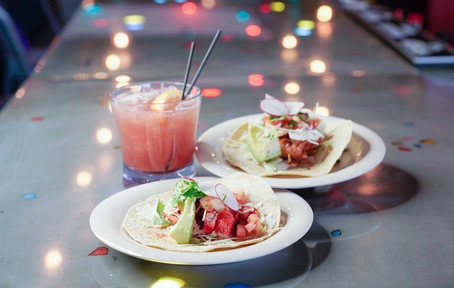 The Boom margarita is the ideal drink pair for Deep South's lobster tacos. (Dave Jarosz)