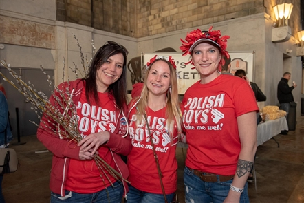 The Buffalo Central Terminal was graced by more than three hours of Buffalo polka stars Those Idiots performing for Dyngus Day on Monday, April 22, 2019. Potts Deli joined the Central Terminal Restoration Corporation as co-presenters of the event.