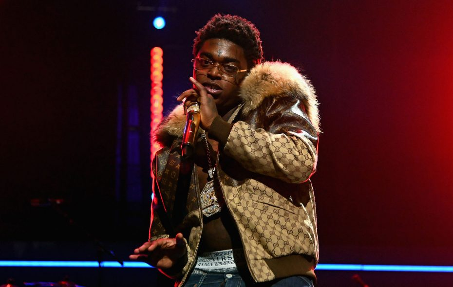 Kodak Black performs onstage in 2018 during the fourth annual TIDAL X: Brooklyn at Barclays Center of Brooklyn. (Nicholas Hunt/Getty Images for TIDAL)