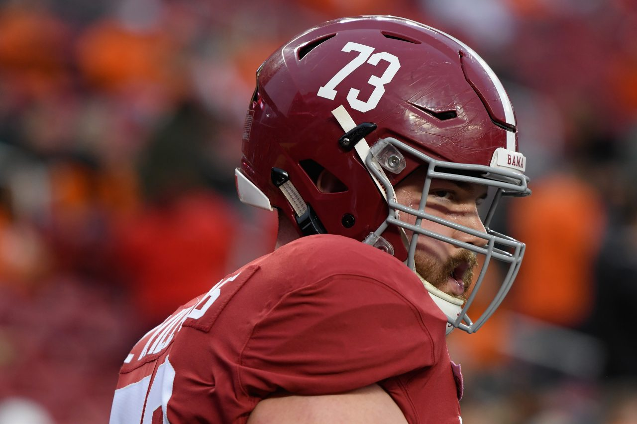 Alabama's Jonah Williams would 'love to play O-line' for the Bills
