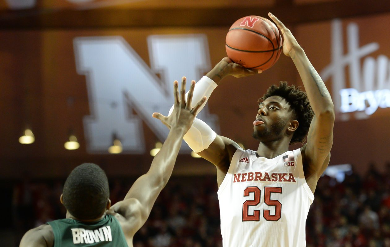 Nana Akenten, who is transferring from Nebraska, is said to be visiting UB next week. (Getty Images)