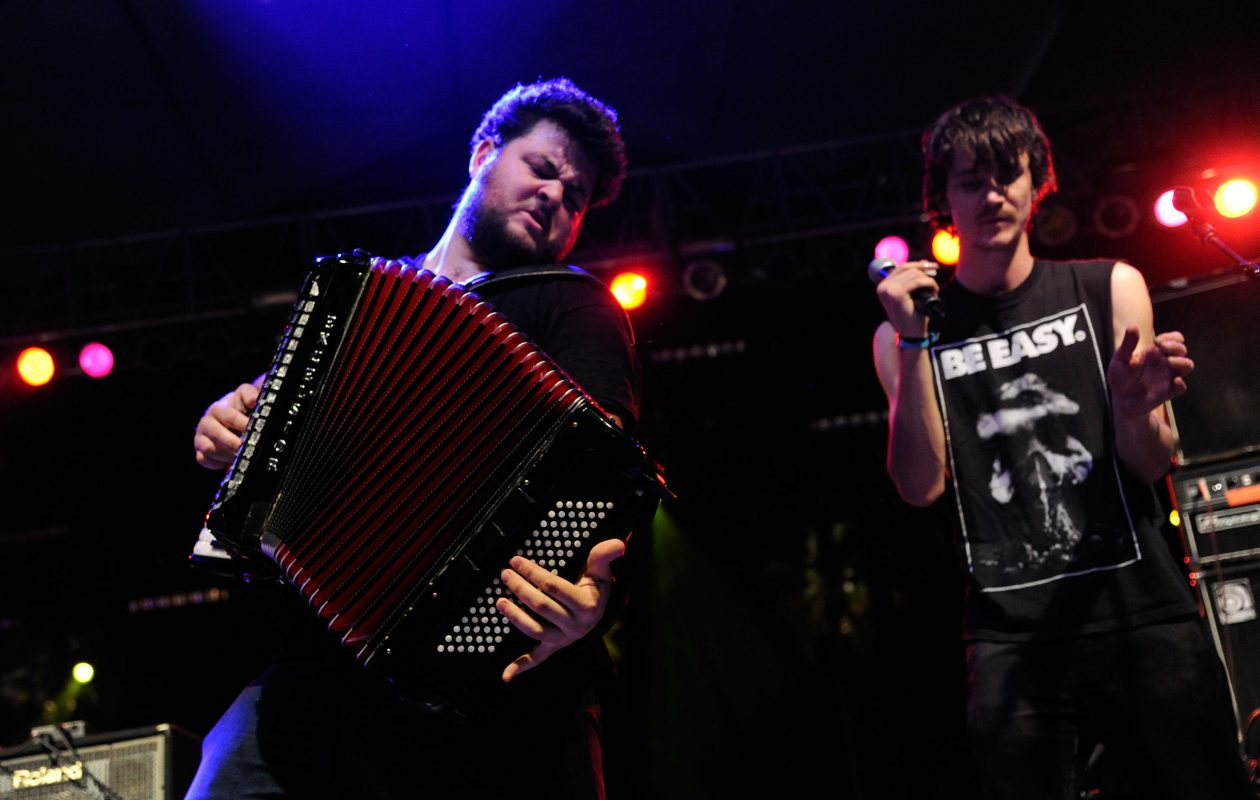 The Felice Brothers return to Buffalo for a show at the 9th Ward @ Babeville. (Getty Images)