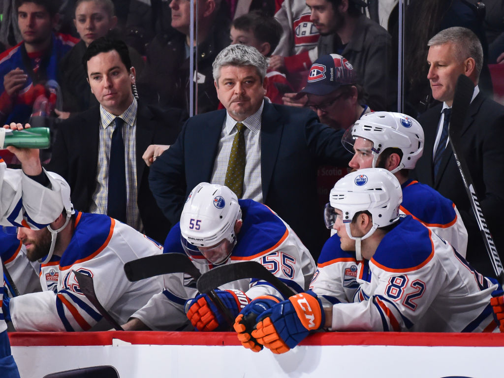 Todd McLellan was introduced as the Los Angeles Kings' coach on Wednesday. (Getty Images)