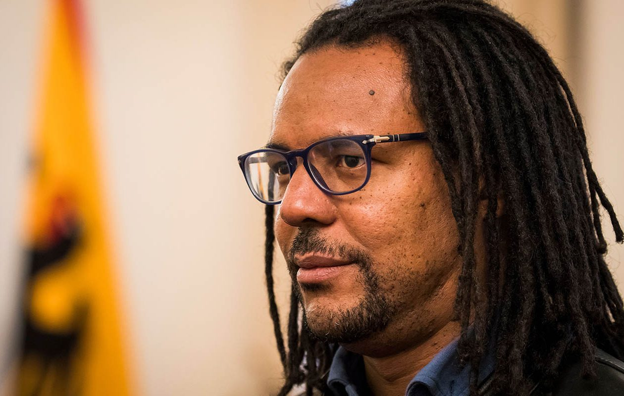 Novelist and Pulitzer Prize winner Colson Whitehead. (ODD ANDERSEN/AFP/Getty Images)