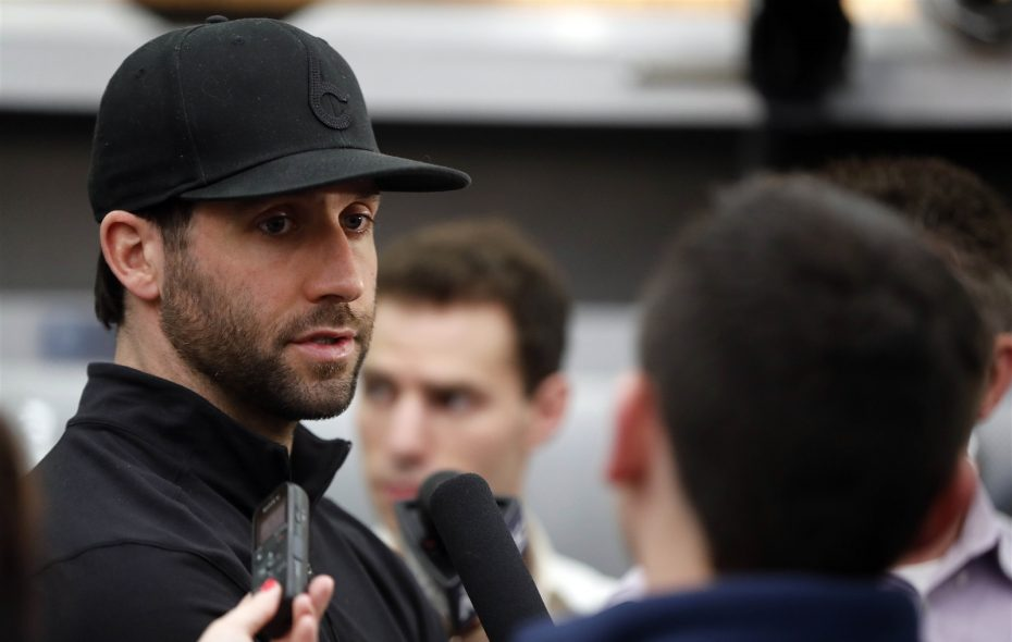 """""""For me, I think it was just that inconsistency of what team was going to show up,"""" Sabres goaltender Carter Hutton said Monday. (Mark Mulville/Buffalo News)"""