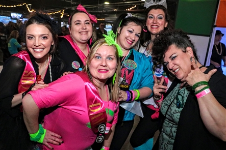 97 Rock hosted Buffalo's Greatest '80s Party, ripe with vibrant colors, flashy fashions and costume prizes, on Saturday, April 13, 2019 in Buffalo RiverWorks. Check out how the attendees embraced the theme.