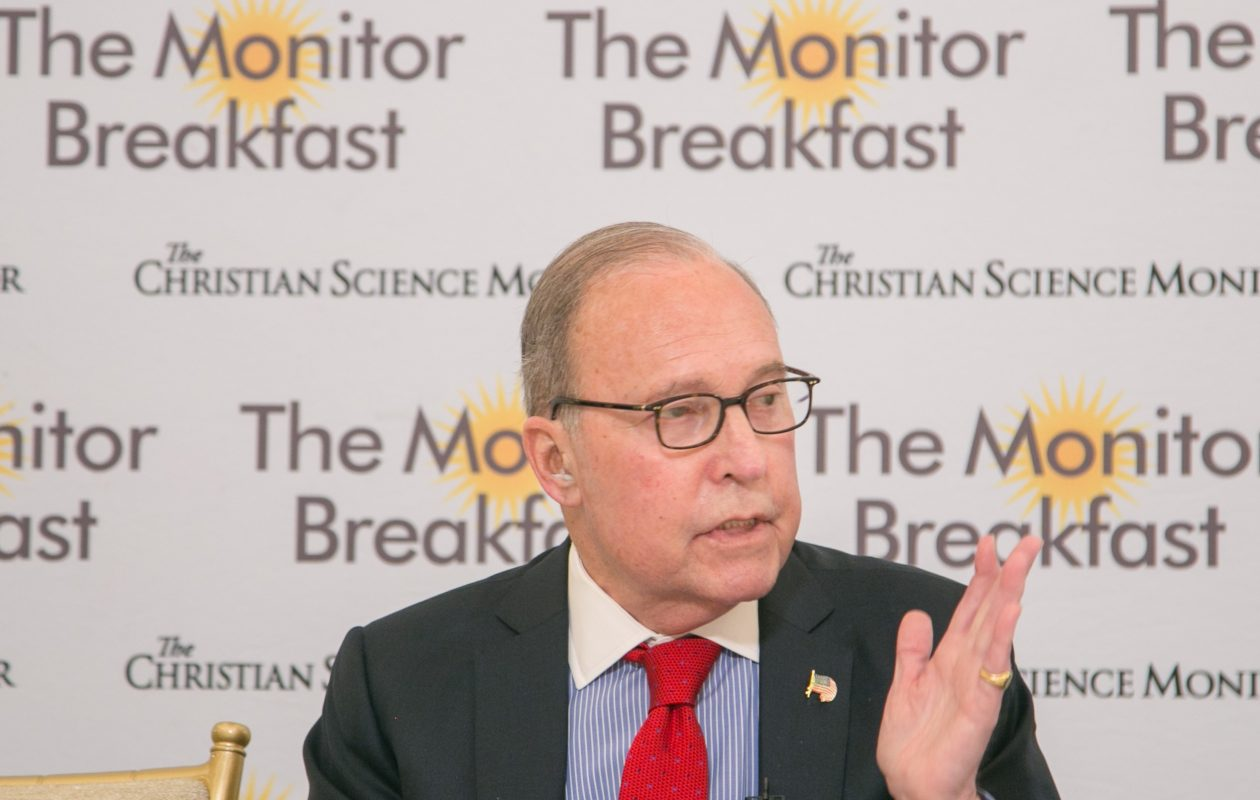 Larry Kudlow, director of the National Economic Council, expressed doubts Wednesday about any possible changes in the so-called 'SALT' deduction. New York's congressional delegation needs to keep pressing for it, anyway. (The Christian Science Monitor)