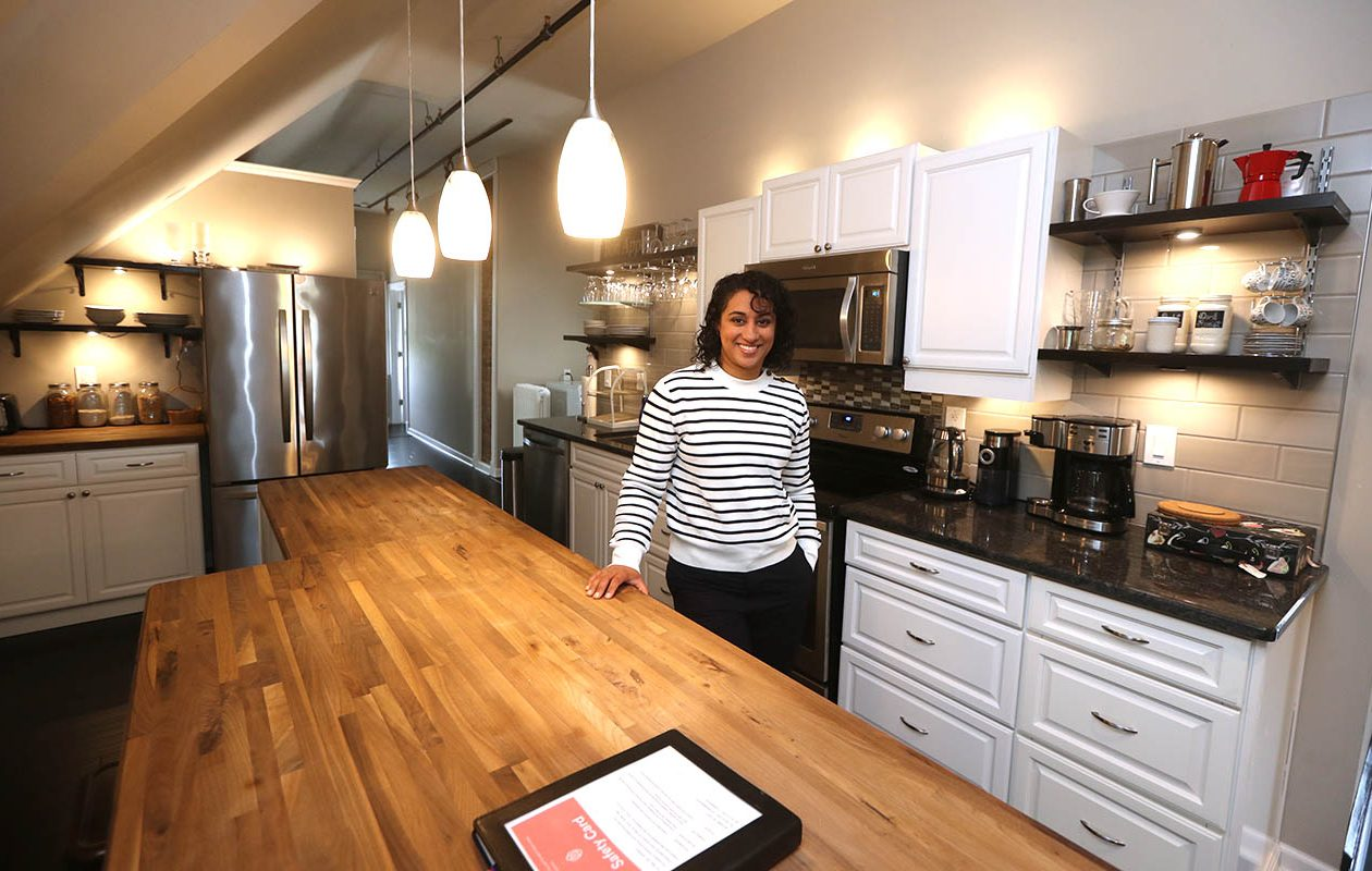 Rupinder Jatana, an Airbnb superhost in Buffalo's Parkside neighborhood, is among the Airbnb hosts raising concerns about new rules approved by Amherst and awaiting approval in Buffalo. (John Hickey/News file photo)