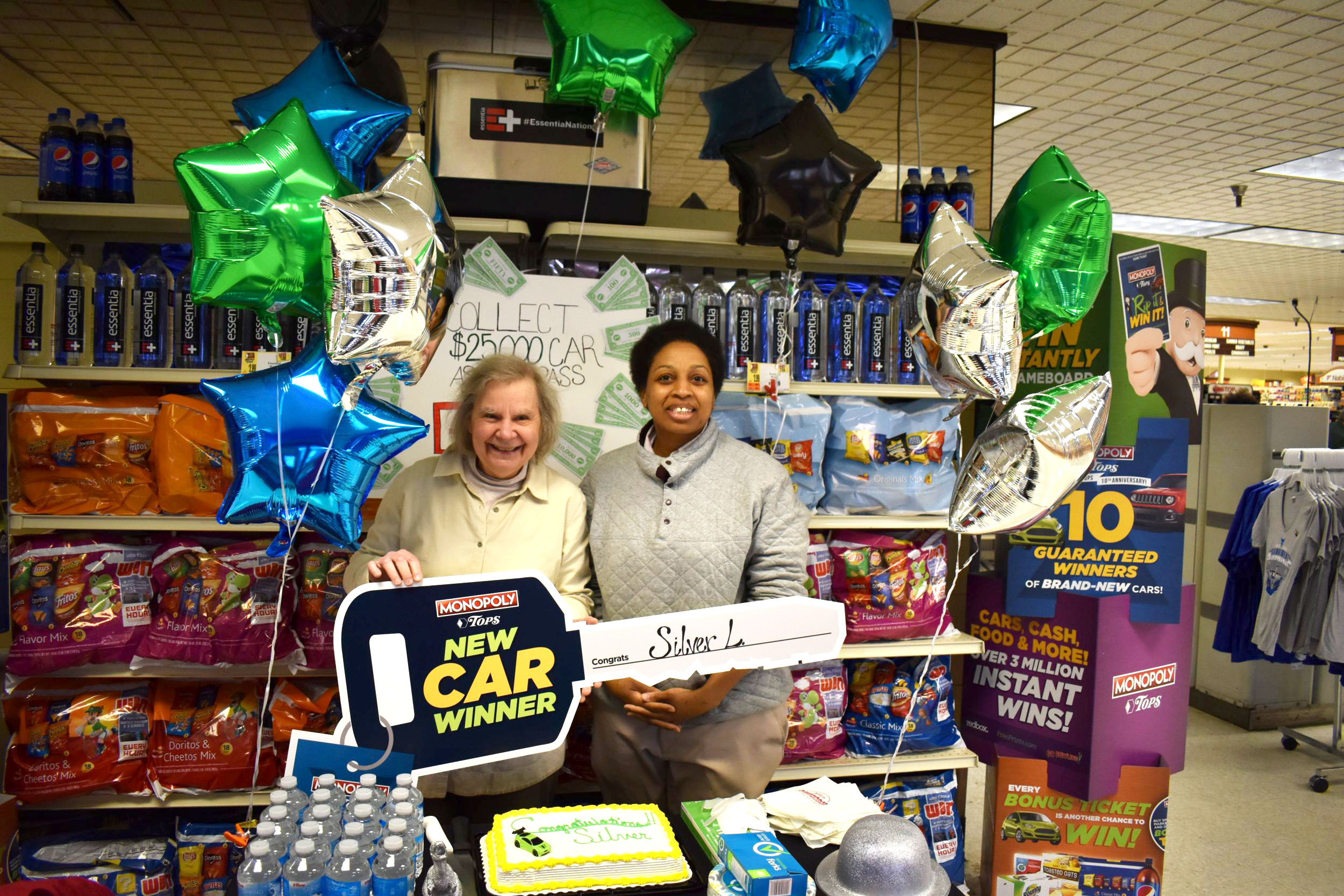 This WNY couple won a car at Tops and gave it away 3 minutes later
