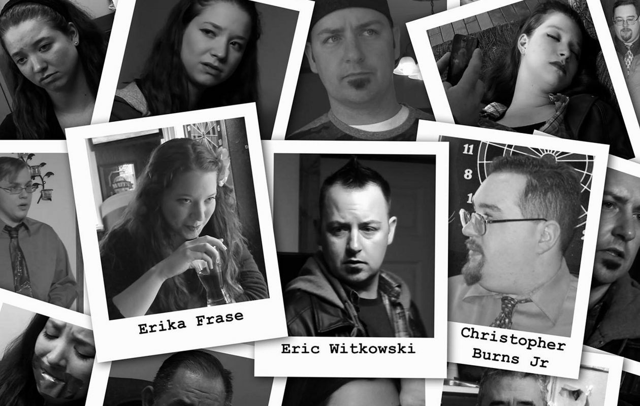 A detail from the poster for the locally made movie 'Photographs' shows many familiar faces.