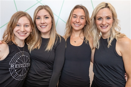 Revolution Buffalo, a cycling and group fitness organization, celebrated its reopening at 1716 Main St., after tripling in size and working in a new location for the Healthy Scratch. See the free classes and the smiling faces from Day One on Saturday, April 13, 2019.