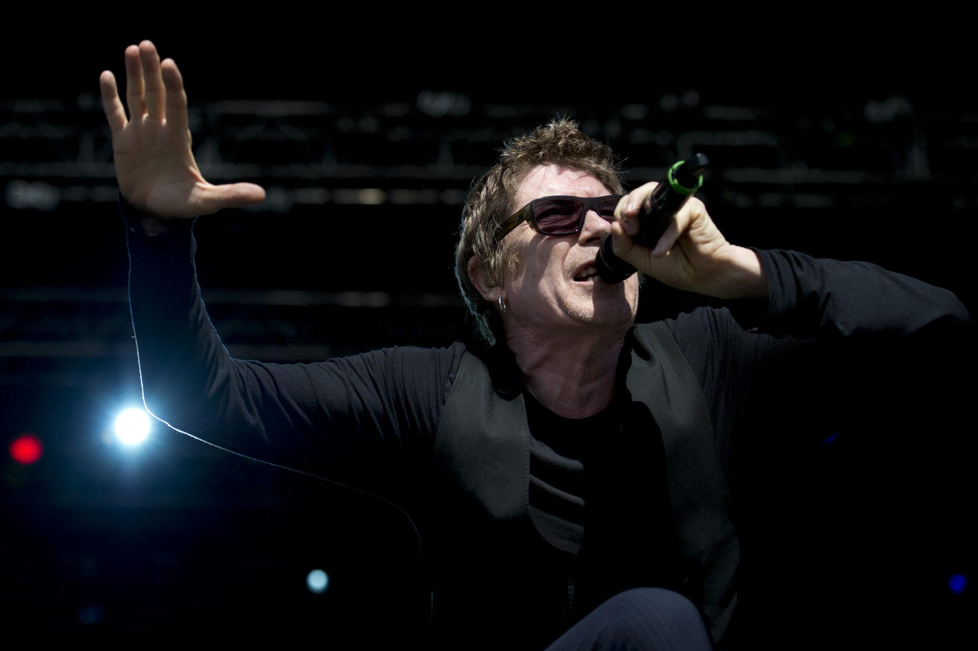 Richard Butler and the Psychedelic Furs perform a co-headlining bill with james. (Getty Images)