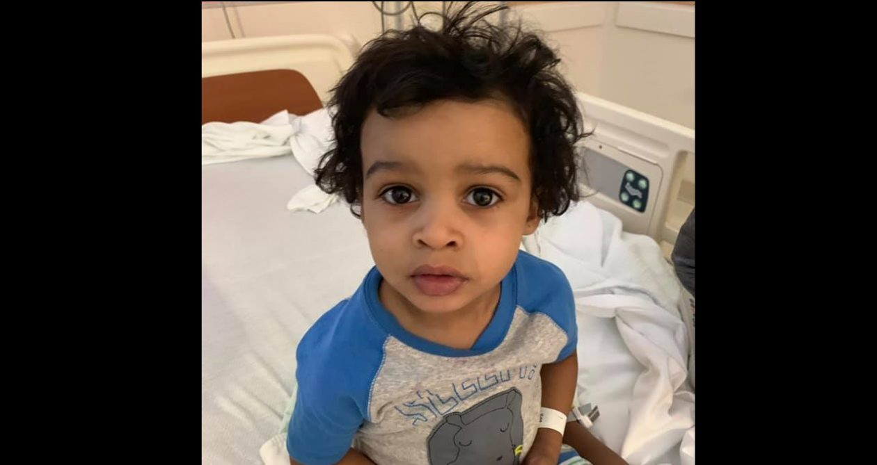 Buffalo police say this boy was found alone overnight. His family has been located. (Photo courtesy of the Buffalo Police Department)