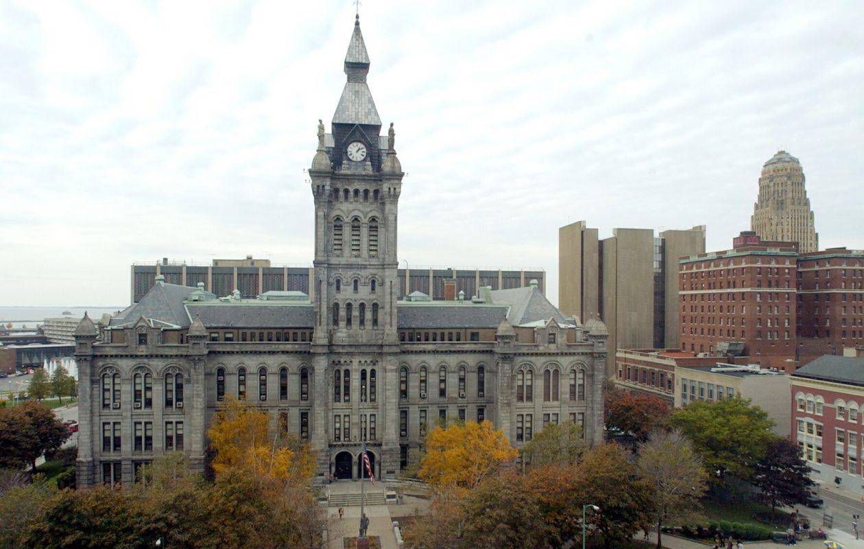 Old County Hall. (Robert Kirkham/News file photo)