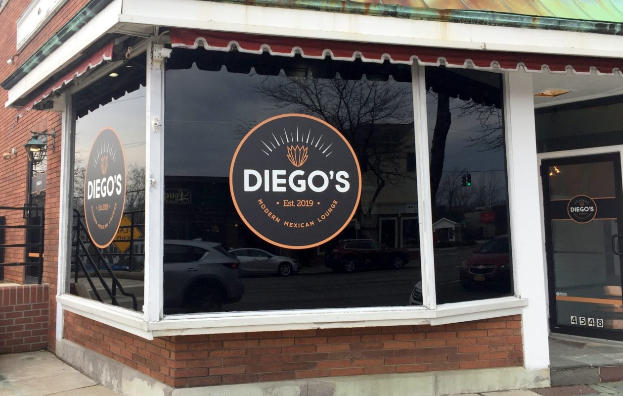 Diego's Modern Mexican Lounge has started serving in soft-opening mode, offering standards and authentic specials. (Andrew Galarneau/Buffalo News)