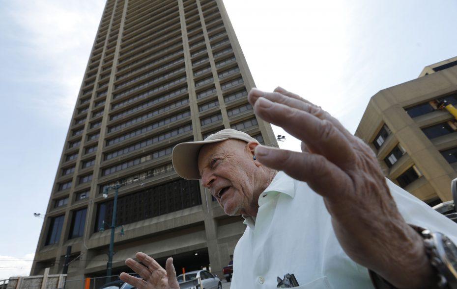 Douglas Jemal's One Seneca Tower plaza will be the location for M&T's tech hub. (Derek Gee/News file photo)