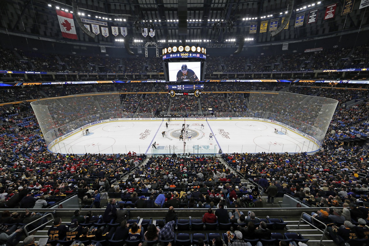 the latest 1ae22 e6bb7 Logos unveiled for Sabres' 50th anniversary – The Buffalo News