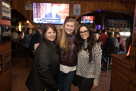 Local volunteer-focused organization, B Team Buffalo, committed to community betterment, hosted Pints and Pads to collect pads and tampons for women in need across Buffalo, on Wednesday, April 17, 2019 in Mr. Goodbar. See who showed their support.