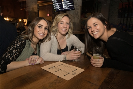 Developer Rocco Termini has done his best to turn Chandler Street - a once dilapidated industrial area on the edge of North Buffalo and Black Rock - into a compelling neighborhood by opening a second Thin Man Brewery location and Tappo Pizza, an offshoot of the Italian restaurant downtown. Here's Smiles on opening weekend on Saturday, April 13, 2019.