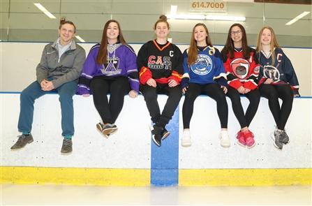 2019 All-Federation Girls Hockey Team