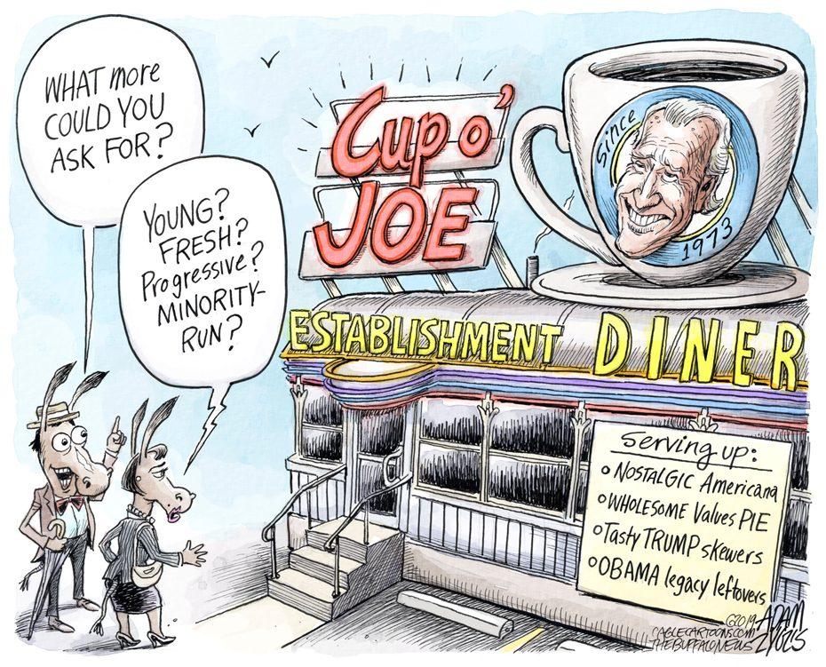 Joe Biden: May 9, 2019