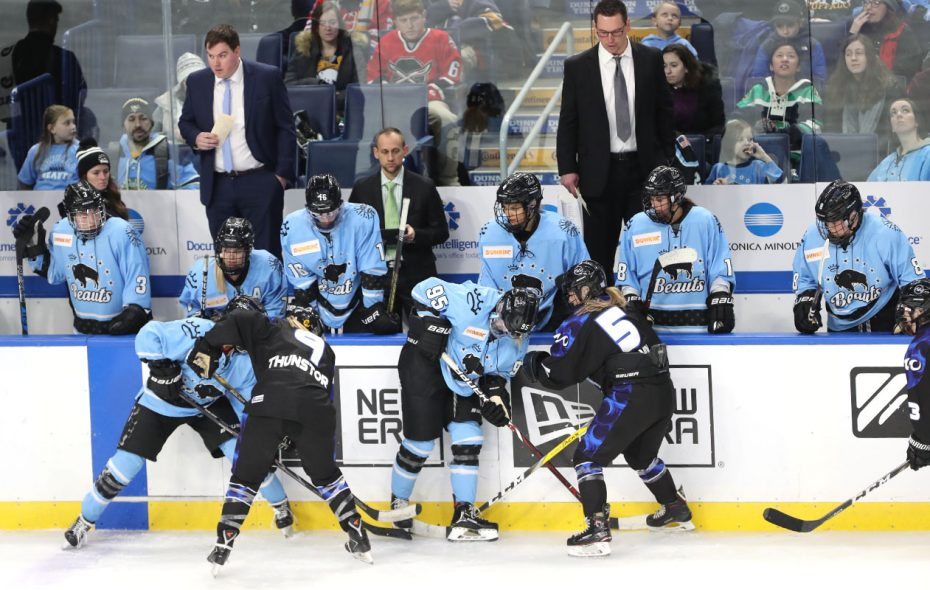 The future of the Buffalo Beauts had been in doubt for almost one week. (John Hickey/News file photo)