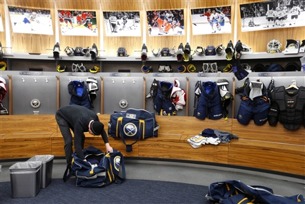 Sabres clean out their lockers after another disappointing season