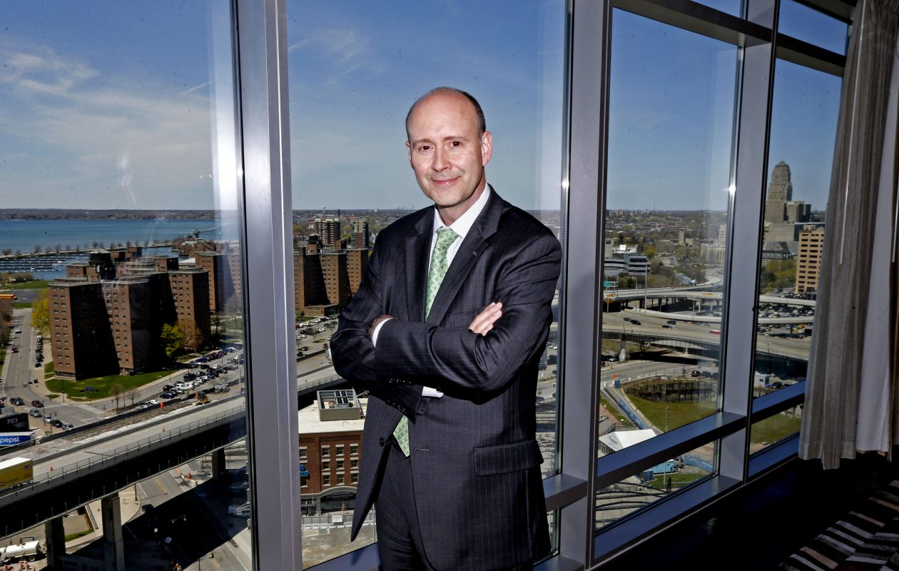 George Mateyo, chief investment officer with Key Private Bank (Robert Kirkham/Buffalo News)